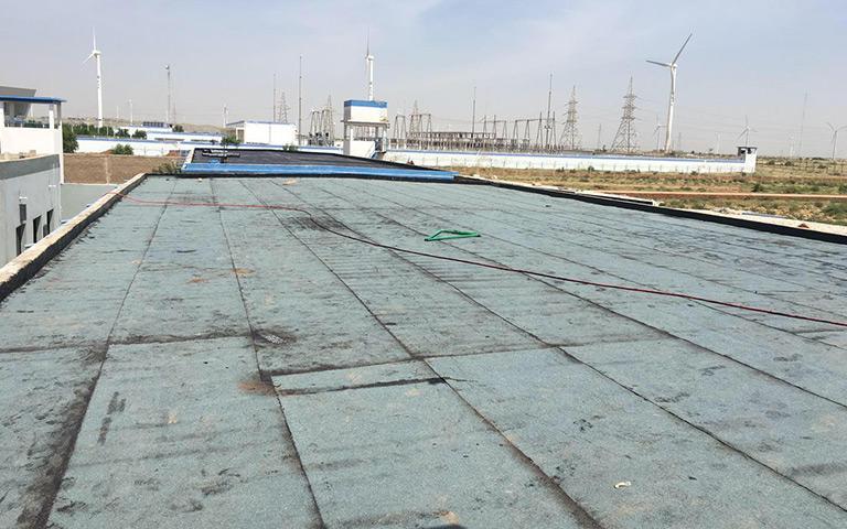 三峡一期(TGF)安保营地屋面防水施工