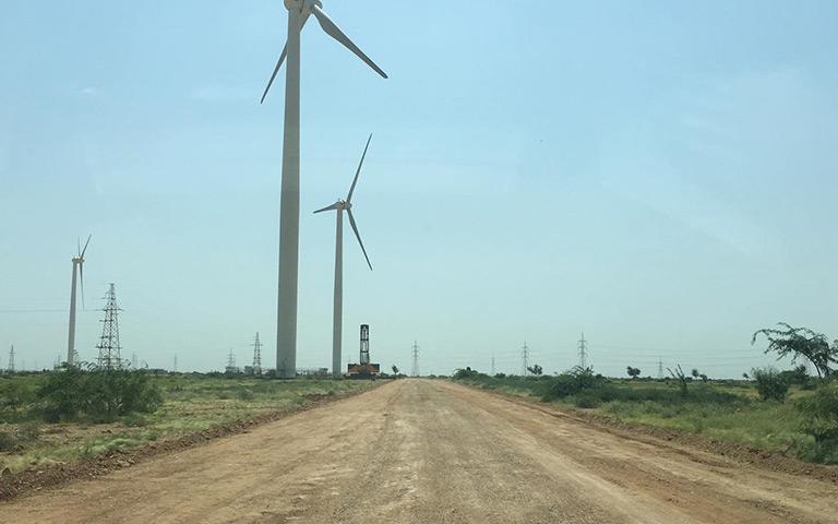 三峡一期(TGF)风电场道路施工3