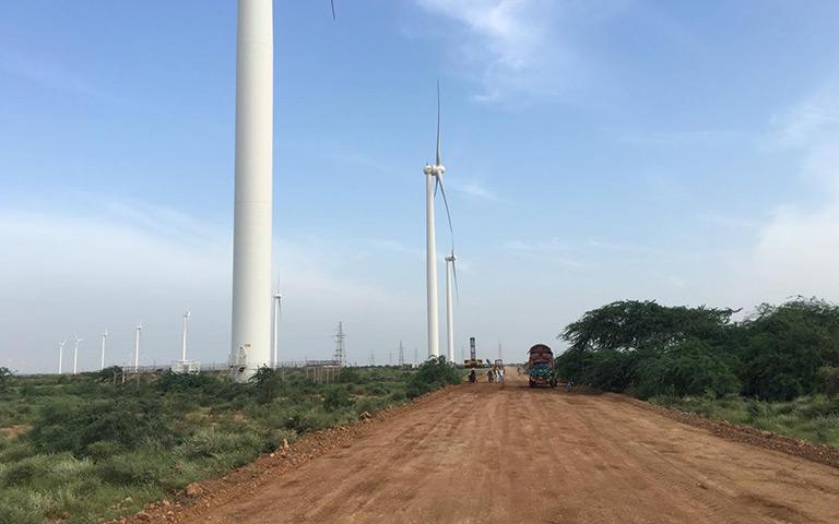 三峡一期(TGF)风电场道路施工1