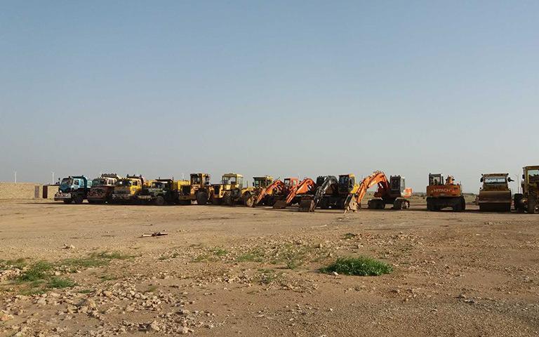 三峡一期(TGF)投入大量设备